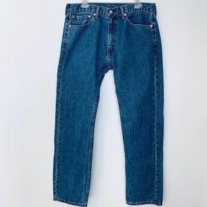 Levi's 505 Strait Leg Jeans Men's Size 36W 34L